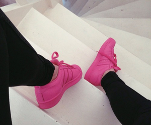 adidas, pink, and legs image