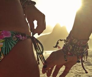 beach, brazil, and rj image