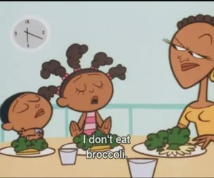 broccoli, cartoon, and funny image