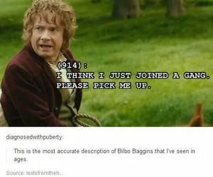 the hobbit, bilbo, and funny image