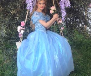blonde, blue, and cinderella image