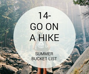 hike and bucket list image