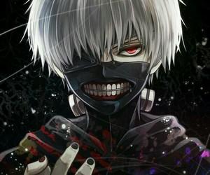 fan art, ken kaneki, and tokyo ghoul image