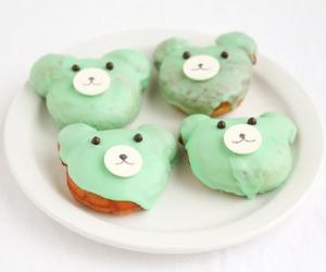 food, bear, and sweet image