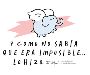 impossible, frases, and mr wonderful image