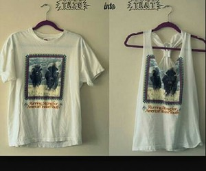diy, quickly, and t-shirt image