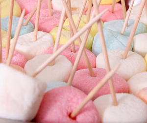colorful and marshmallows image