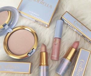 mac, makeup, and cinderella image