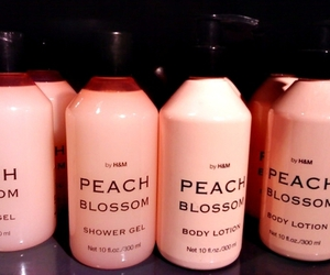 peach, H&M, and pink image