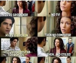 funny, teen wolf, and what episode image