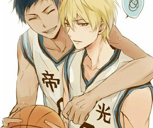 anime, knb, and aokise image