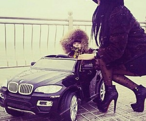 car, baby, and luxury image