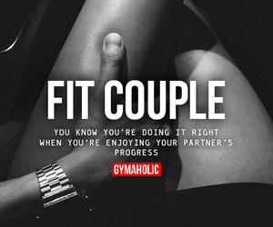 couple, fit, and fitness image