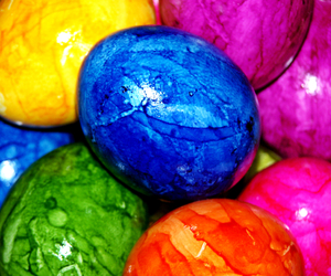colors, eggs, and easter image