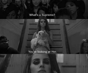 lana del rey, supreme, and ahs image