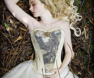 blonde and sleeping beauty image