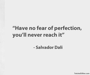 dali, quote, and perfection image