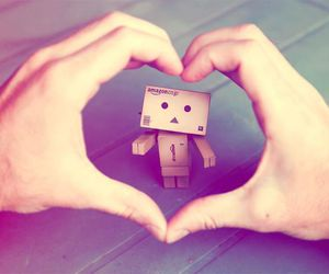 heart and danbo image