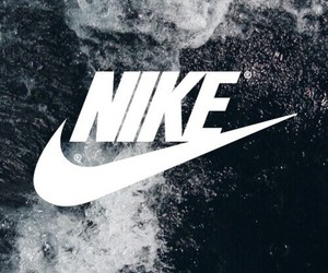 black, cool, and nike image