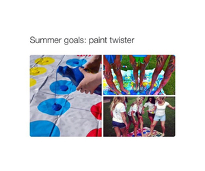 goals and summer image