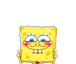 spongebob, cute, and overlay image