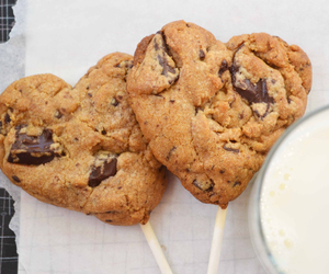 chocolate, sweet, and Cookies image
