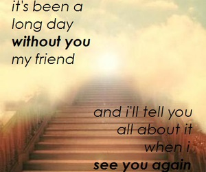 quotes, fast and furious 7, and song image