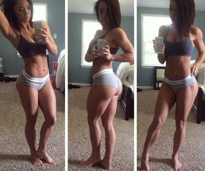abs, healthy, and crop top image