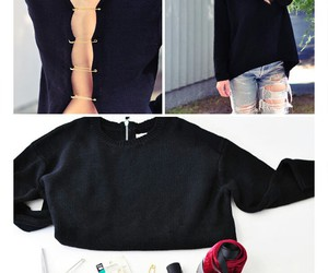 diy, black, and clothes image