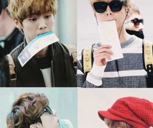 airport, boy, and Chen image
