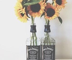 jack daniel's, whiskex, and sun daisies image