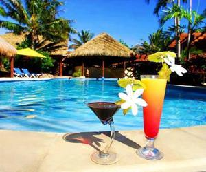 cocktail and pool image
