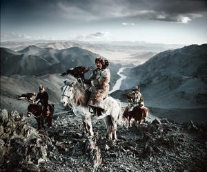 mongolia, nomad, and kazakh tribe image