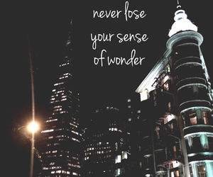 wonder, quote, and city image