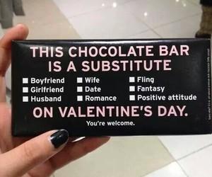 chocolate, Valentine's Day, and valentine image