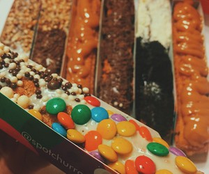 candy, churros, and sweet image