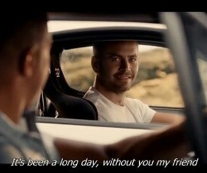 crying, paul walker, and big heart image