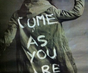 nirvana, come as you are, and grunge image