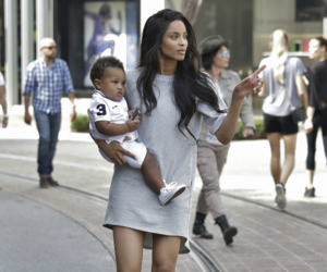 ciara, baby, and mom image