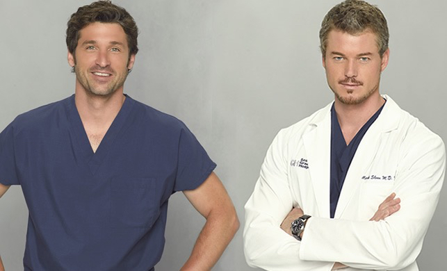 McDreamy & McSteamy❤ discovered by Ana Lazarini