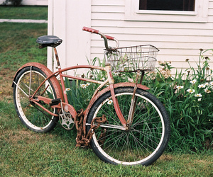 bike and vintage image