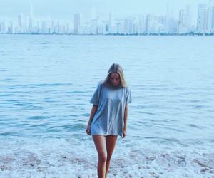 beach, blonde, and brazil image