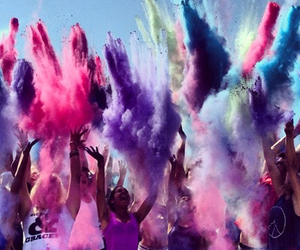 party, colors, and pink image
