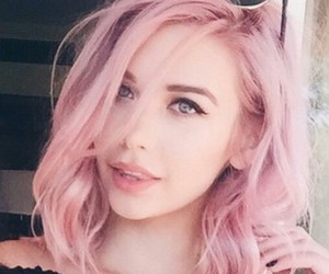 coachella and pink hair image
