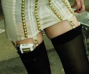 Taylor Momsen, cigarette, and legs image