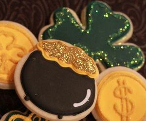 Cookies, day, and st patricks image