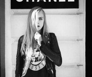chanel, model, and cara delevingne image