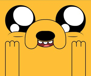 JAKe, adventure time, and hora de aventura image