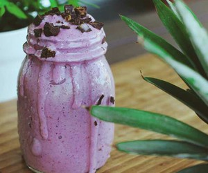 fitness, food, and smoothie image