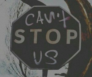 stop, grunge, and us image